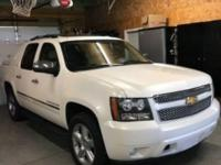Clean CARFAX. White 2012 Chevrolet Avalanche 1500 LTZ