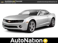 Look into this gently-used 2012 Chevrolet Camaro we