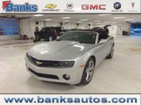 2012 Chevrolet Camaro LT Convertible, Satellite Radio,