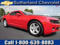 GM Certified. Come to Sutherland Chevrolet! Right car!