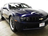 This outstanding example of a 2012 Chevrolet Camaro 1LS