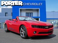 NEW LOW PRICE*** This 2012 Chevrolet Camaro 2dr Conv