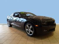 Look at this 2012 Chevrolet Camaro 2LT. Its Manual