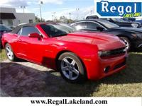 Recent Arrival! Red 2012 Chevrolet Camaro 1LT RWD