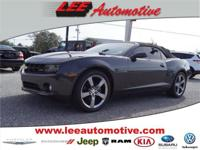 Look no further this 2012 Chevrolet Camaro 2LT 2dr