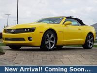 2012 Chevrolet Camaro 2LT in Rally Yellow, This Camaro