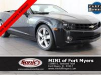 This 2012 Chevrolet Camaro 2LT comes well-equipped with