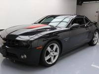 This awesome 2012 Chevrolet Camaro comes loaded with