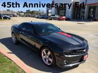 45th Anniversary Ed., Camaro SS 2SS, 2D Coupe, 6.2L V8