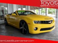 Options:  2012 Chevrolet Camaro Ss|Yellow|Rally Yellow