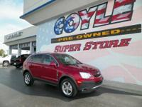 EPA 28 MPG Hwy/20 MPG City! Chevrolet Certified, CARFAX