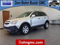 CARFAX 1 Owner 2012 CHEVROLET CAPTIVA SPORT FLEET FWD