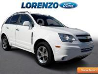 Options:  2012 Chevrolet Captiva Sport Lt|White/|V6