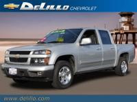 2012 CHEVROLET Colorado 2WD CREW CAB LT W/1LT.
