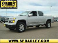 This Crew Cab Pickup is hot! This Chevrolet Colorado