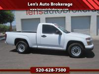 Options:  2012 Chevrolet Colorado Carfax 1 Owner And A
