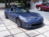 2012 Corvette Hardtop Z06, Supersonic Blue with Ebony