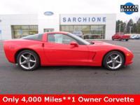 2012 Chevrolet Corvette***6.2L V8 Engine***6-Speed