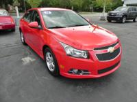 2012 CHEVROLET CRUZE. ************ ONE OWNER **********