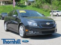 Snag a deal on this 2012 Chevrolet Cruze LTZ before