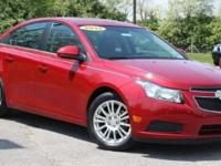 2012 Chevrolet Cruze ECO Victory Red. 6 speed! Perfect
