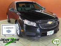 2012 CRUZE LS! LOW MILES! ONE OWNER! AIR CONDITIONER!
