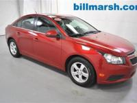 2012 Chevy Cruze, GM Certified, Alloy wheels, CD
