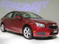 2012 Chevrolet Cruze 2LT. Red Hot! Turbo! Fresh Arrival