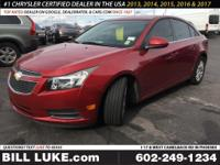 Options:  2012 Chevrolet Cruze Eco|Red|Premium Cloth