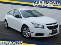 Priced Below the Market. This 2012 Chevrolet Cruze LS