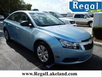 4D Sedan, ECOTEC 1.8L I4 DOHC VVT, FWD, and Blue. Like