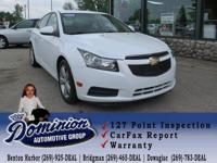 Take a look at this 2012 Chevrolet Cruze 2LT that