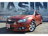 This 2012 Chevrolet Cruz is a Carfax 1-Owner Vehicle