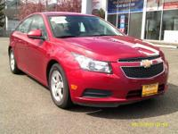 Snatch a score on this 2012 Chevrolet Cruze LT with 1FL