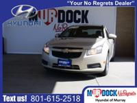 2012 Chevrolet Cruze LT, Just traded in, Only 113,376