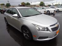 This 2012 Chevrolet Cruze LT w/1FL will sell fast