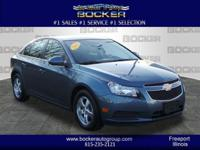 This 2012 Chevrolet Cruze LT features a stability
