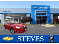 Options:  2012 Chevrolet Cruze 1Lt|Fuel Consumption: