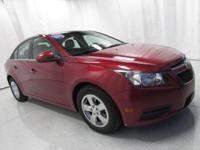 2012 Chevrolet Cruze 1LT Red Priced below KBB Fair