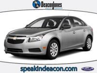 AND MORE!======KEY FEATURES ON THIS CHEVY CRUZE