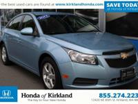 =Accident Free CARFAX= and Local Trade In. Cruze 1LT,