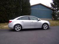 2012 Chevrolet Cruze LTZ The LTZ with all of the