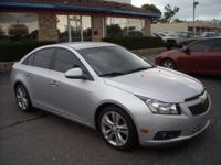 THIS  IS A VERY SHARP 2012 CHEVROLET CRUZE  4 CYLINDER
