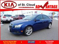 Options:  2012 Chevrolet Cruze Ltz|Ltz 4Dr Sedan