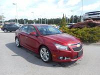 This wonderful-looking 2012 Chevrolet Cruze is the rare