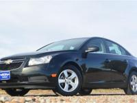 2012 Chevrolet Cruze with a 1.4 L 4 cyls Automatic