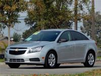 This 2012 Chevrolet CRUZE 4dr 4dr Sedan LS Sedan