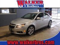 2012 Chevrolet Cruze Sedan LTZ Our Location is: Walker