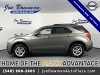 New Price! Clean CARFAX. 2012 Chevrolet Equinox LT 1LT