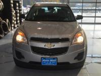 Options:  2012 Chevrolet Equinox Ls|Silver|Here At The